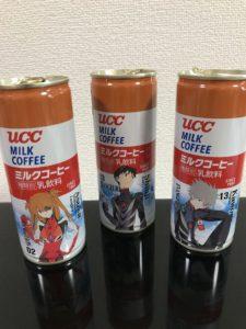 UCCとシンエヴァのコラボ缶