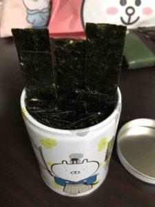 うさまる、山本海苔店のりチップス・5