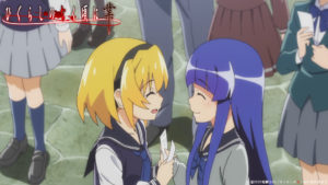 高校生の梨花ちゃんと沙都子・3