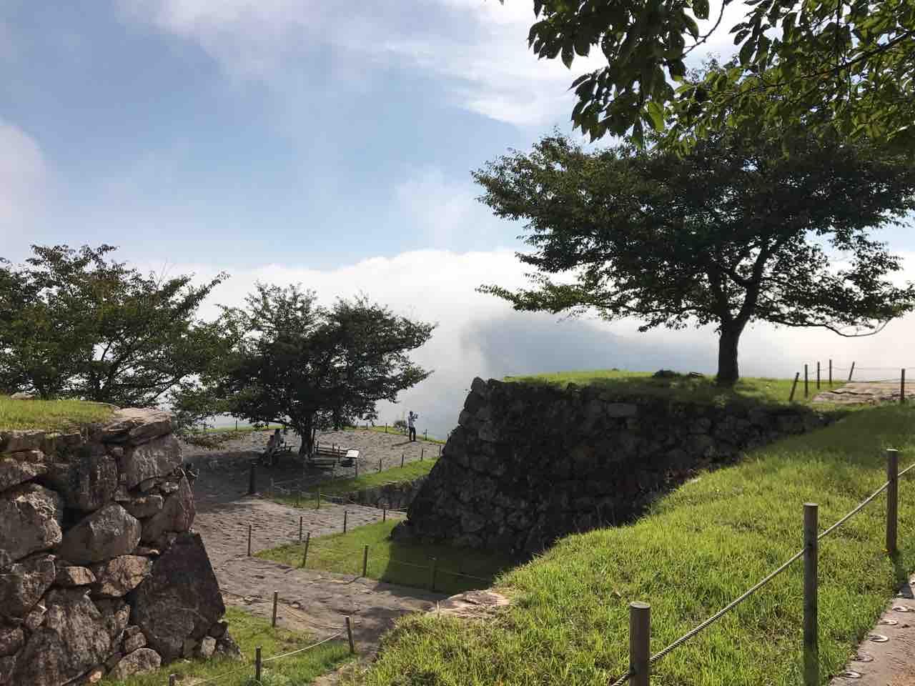 竹田城跡の写真・1