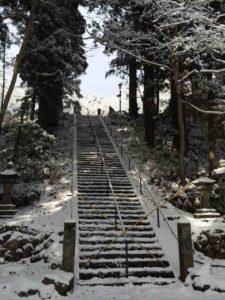 戸隠の雪・16(戸隠神社)