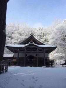 戸隠の雪・18(戸隠神社)